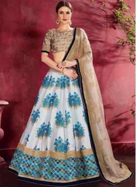 Superlative Blue Designer Lehenga Choli