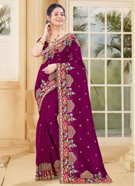 Superlative Designer Traditional Saree For Ceremonial