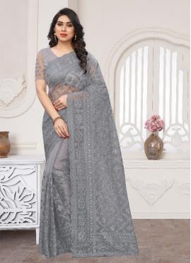 Superlative Embroidered Trendy Saree