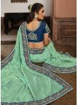 Surpassing Designer Traditional Saree For Sangeet - 1