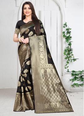Surpassing Weaving Silk Traditional Saree