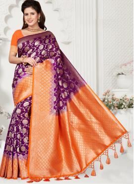 Tiptop Silk Weaving Traditional Saree