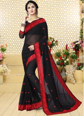 Versatile Embroidered Trendy Saree