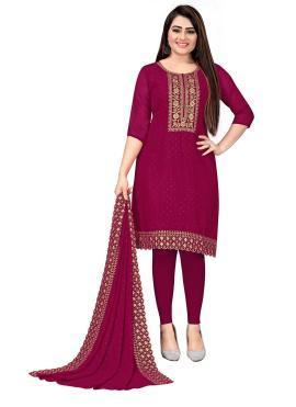 Versatile Maroon Festival Trendy Salwar Suit