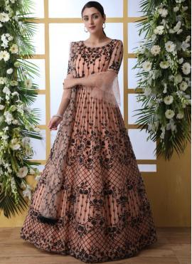 Versatile Net Festival Designer Gown