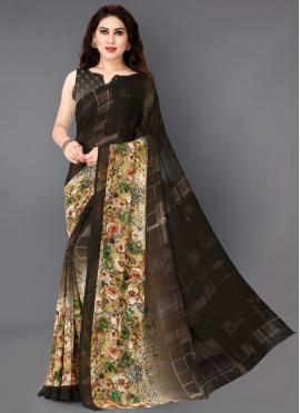 Versatile Printed Saree For Party