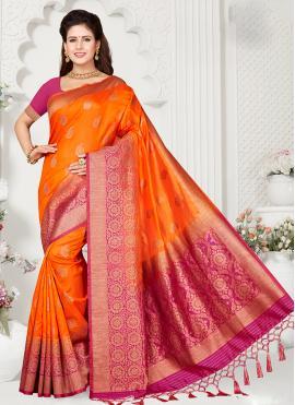 Versatile Zari Art Silk Designer Traditional Saree