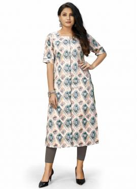 Voluptuous Party Wear Kurti For Casual