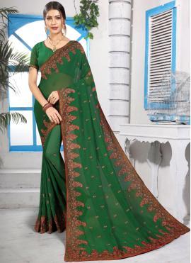 Whimsical Resham Classic Saree