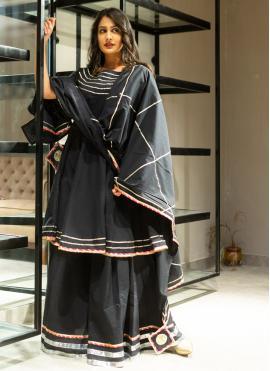 Wonderous Lace Black Lehenga Choli