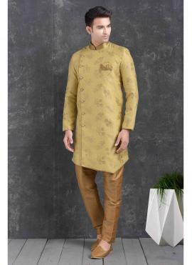 Yellow Color Indo Western