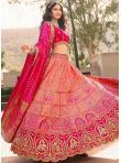Zari Banarasi Silk Trendy Lehenga Choli in Pink - 1